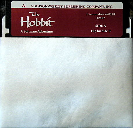The Hobbit Commodore 64 Media