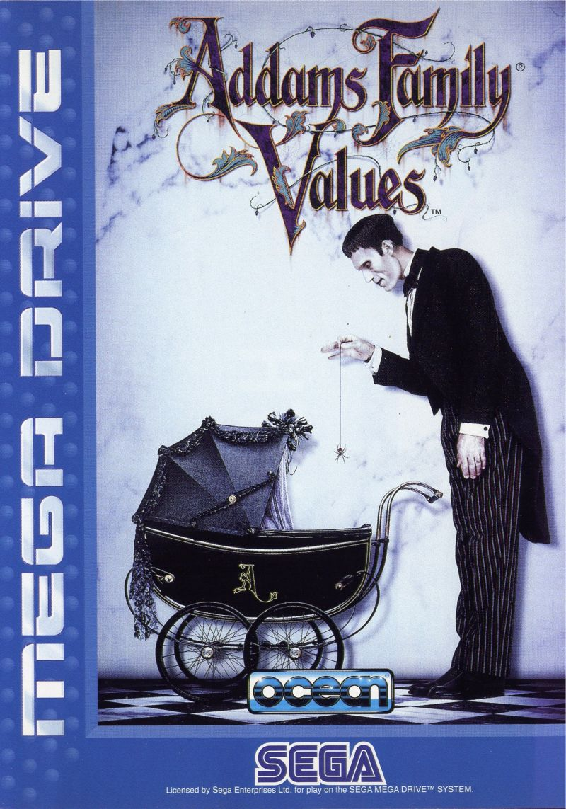 Addams Family Values Genesis Front Cover