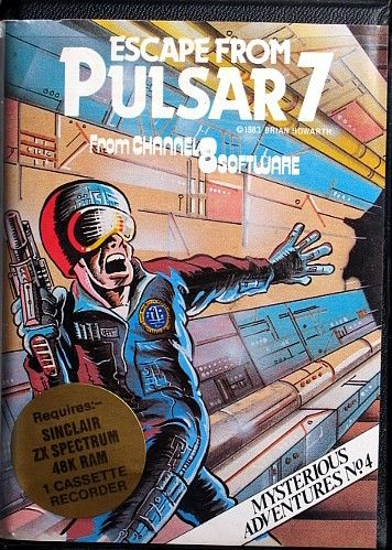 Escape from Pulsar 7 ZX Spectrum Front Cover
