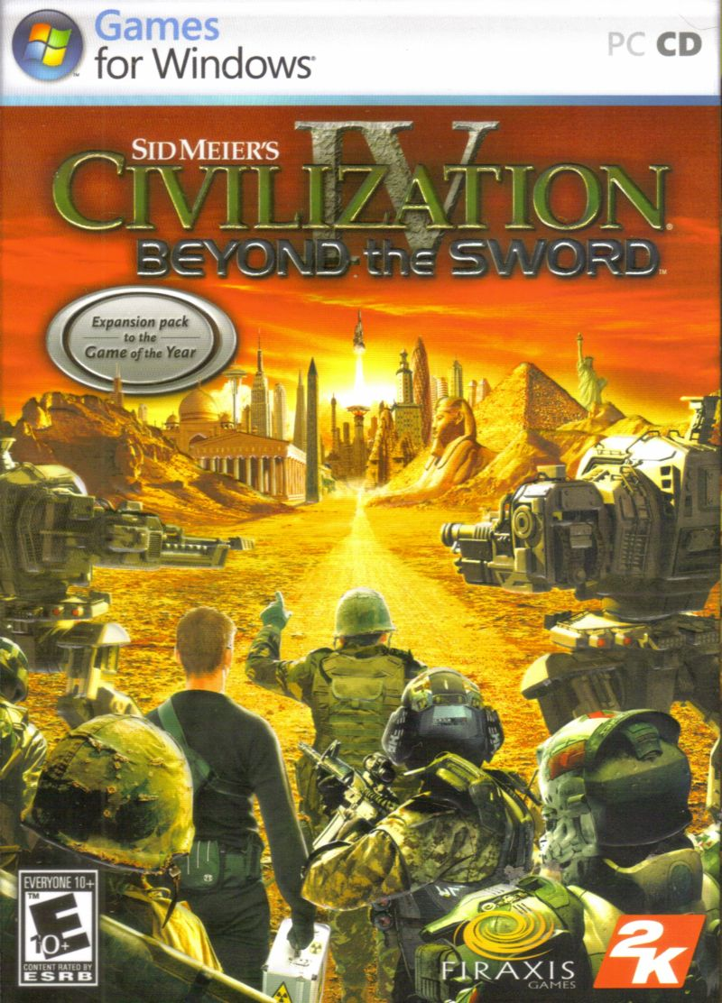 Sid Meier's Civilization IV: Beyond the Sword Windows Front Cover