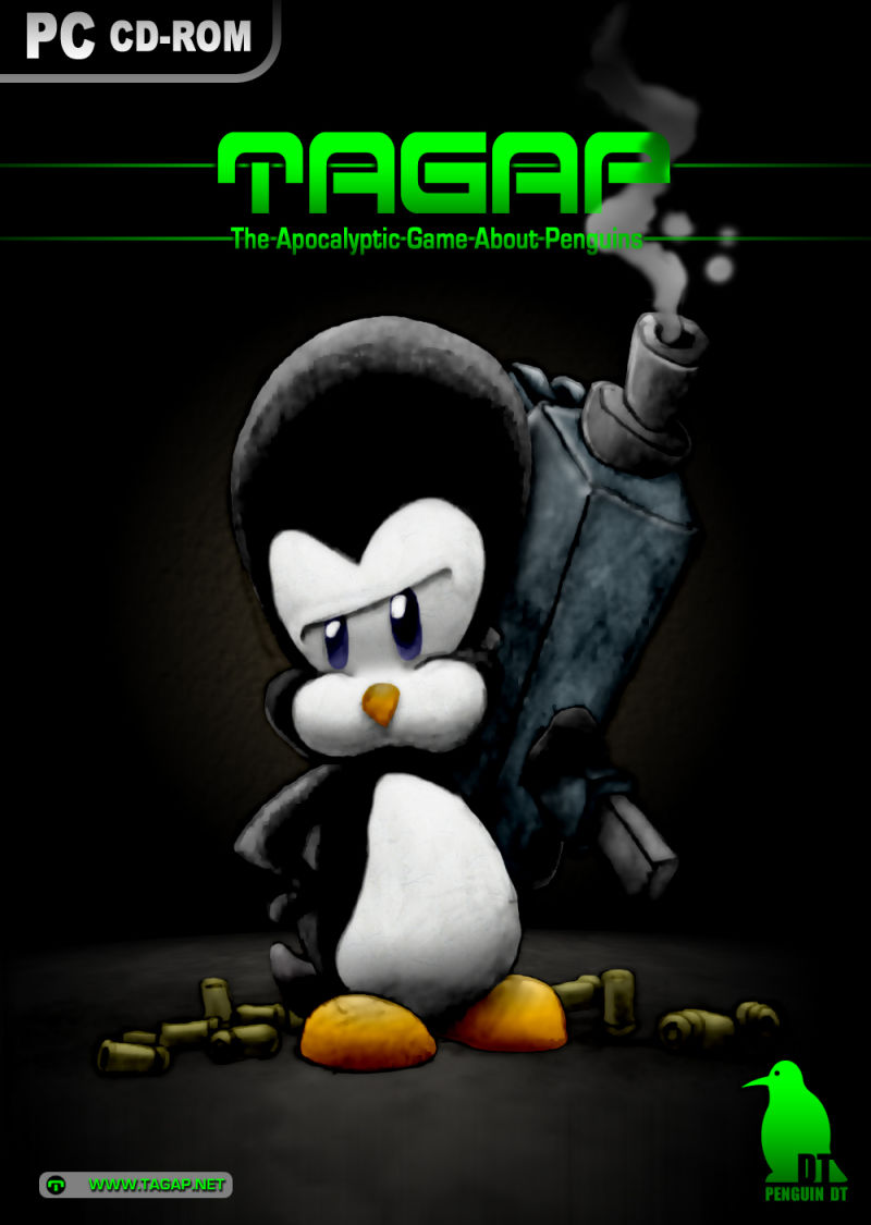 TAGAP: The Apocalyptic Game About Penguins Windows Front Cover