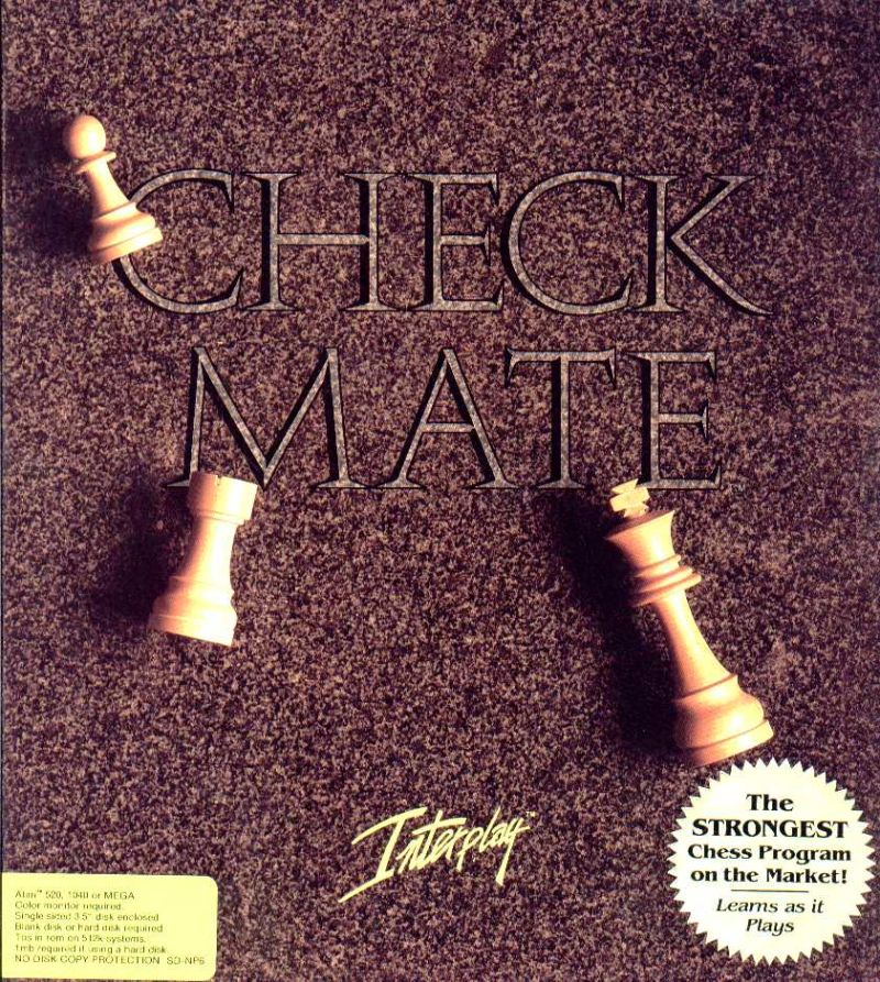 Checkmate Atari ST Front Cover