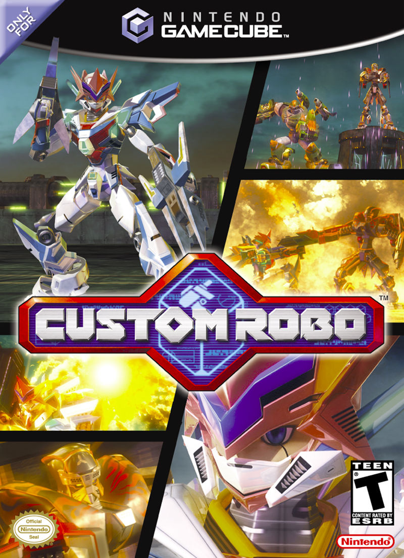 Custom Robo GameCube Front Cover