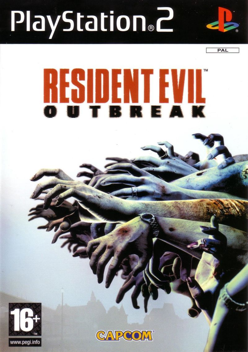 Resident Evil: Outbreak PlayStation 2 Front Cover