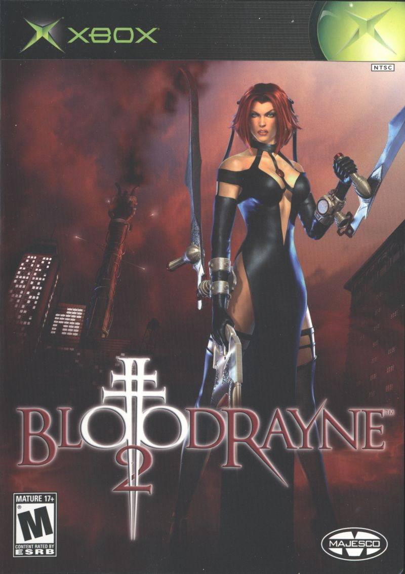 BloodRayne 2 Xbox Front Cover