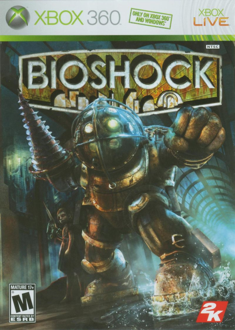 BioShock Xbox 360 Front Cover