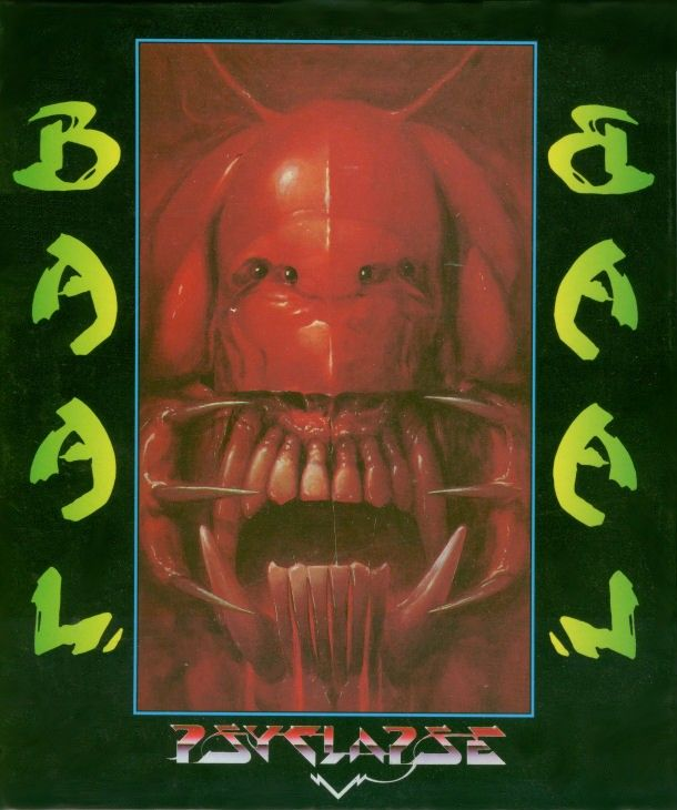 Baal Amiga Front Cover