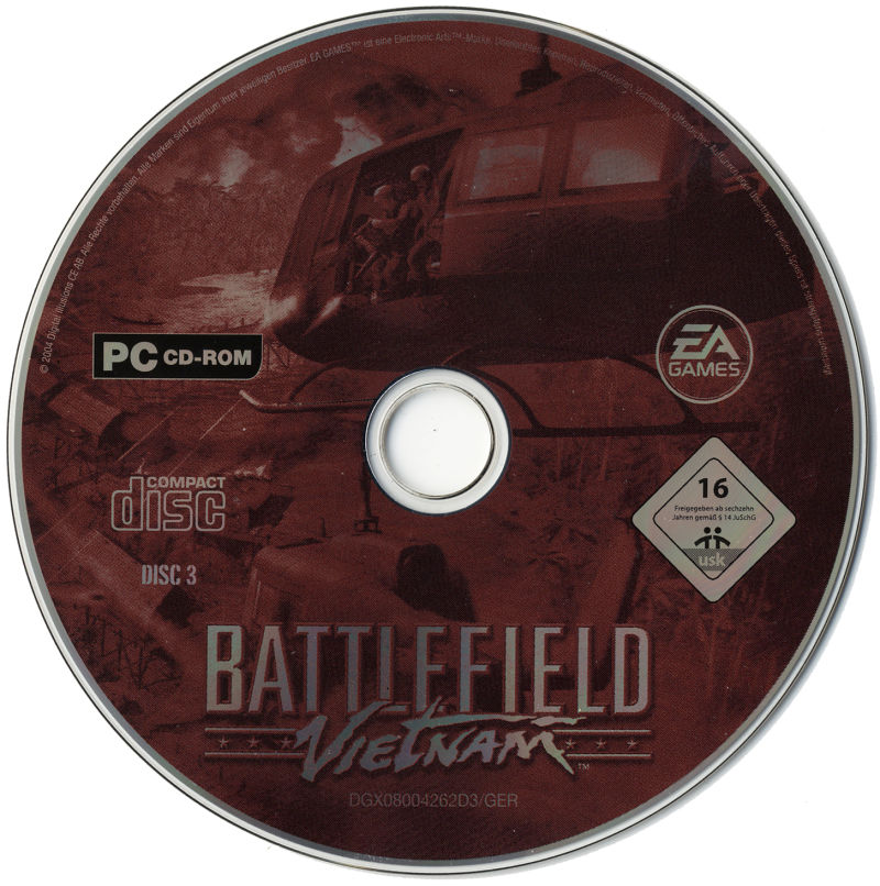 Battlefield Vietnam Windows Media Disc 3