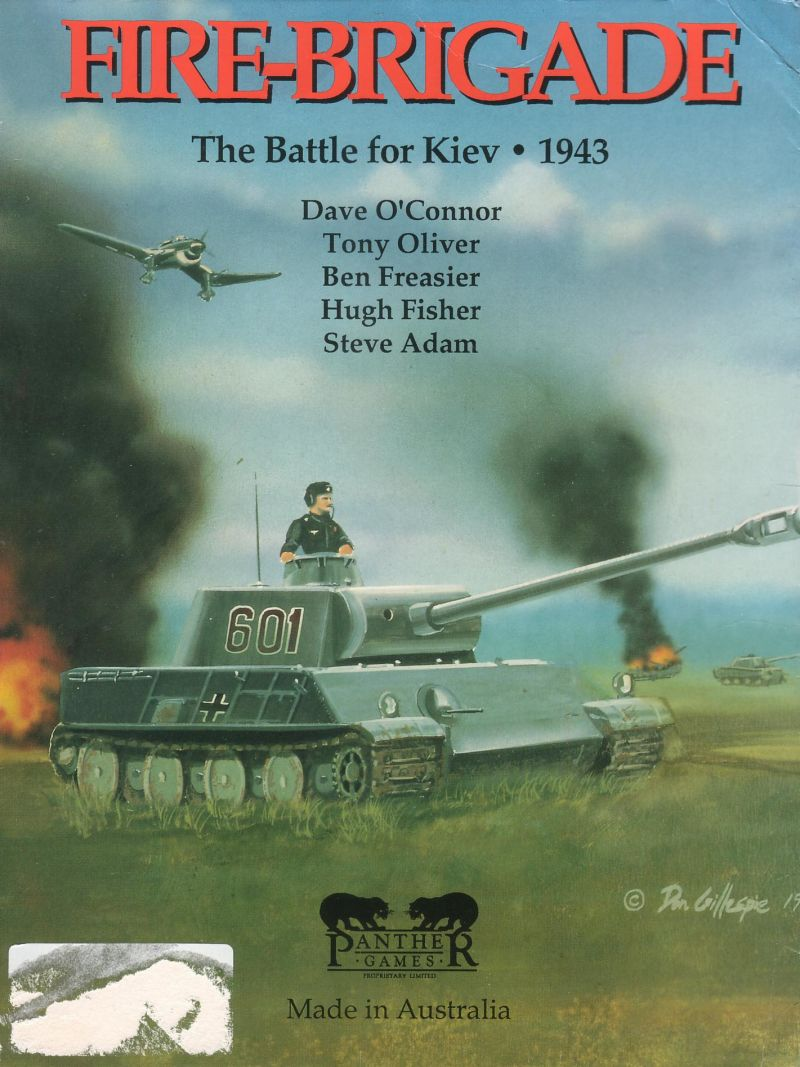 Fire-Brigade: The Battle for Kiev - 1943 DOS Front Cover