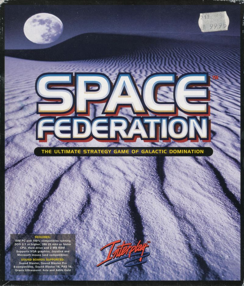 Star Reach DOS Front Cover