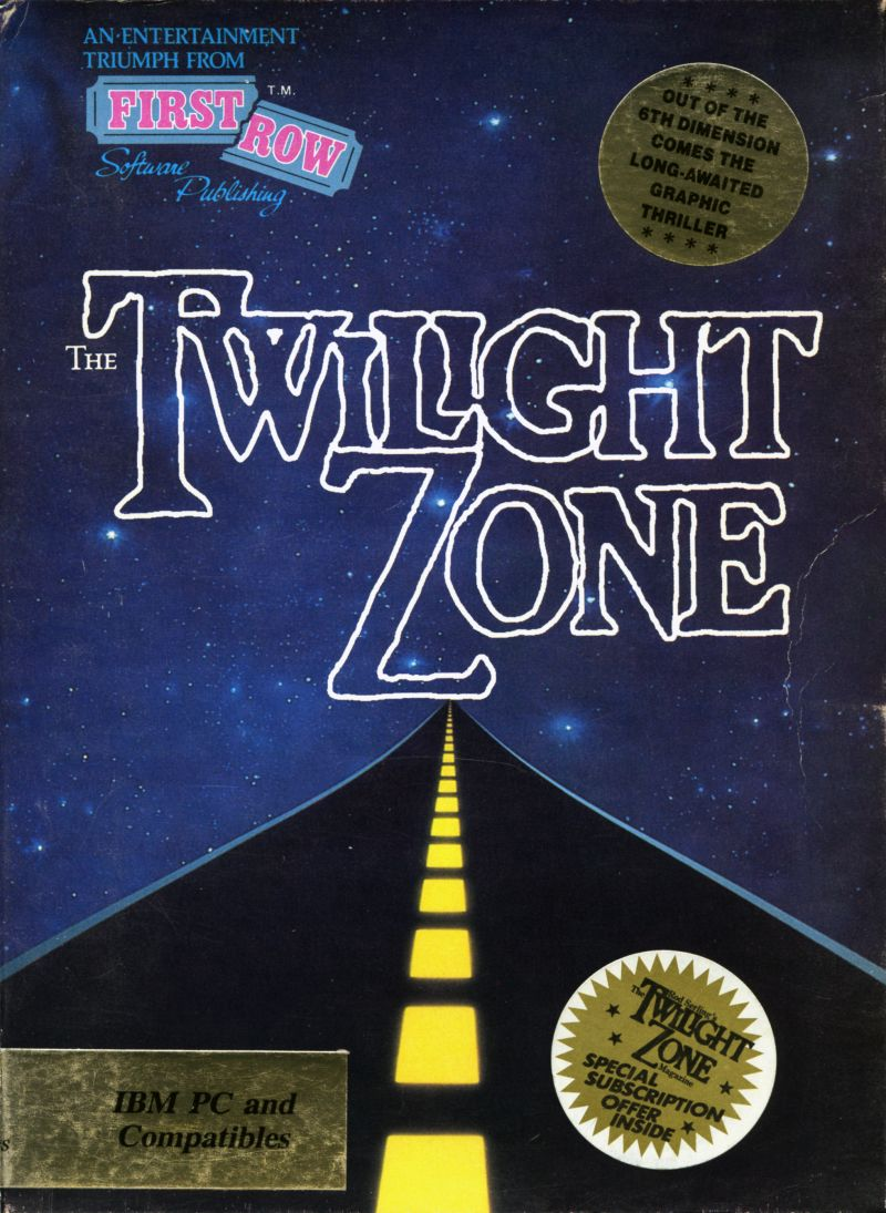 The Twilight Zone DOS Front Cover