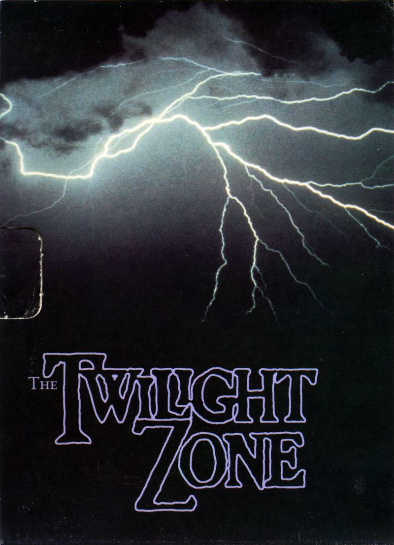 The Twilight Zone DOS Inside Cover Left Flap