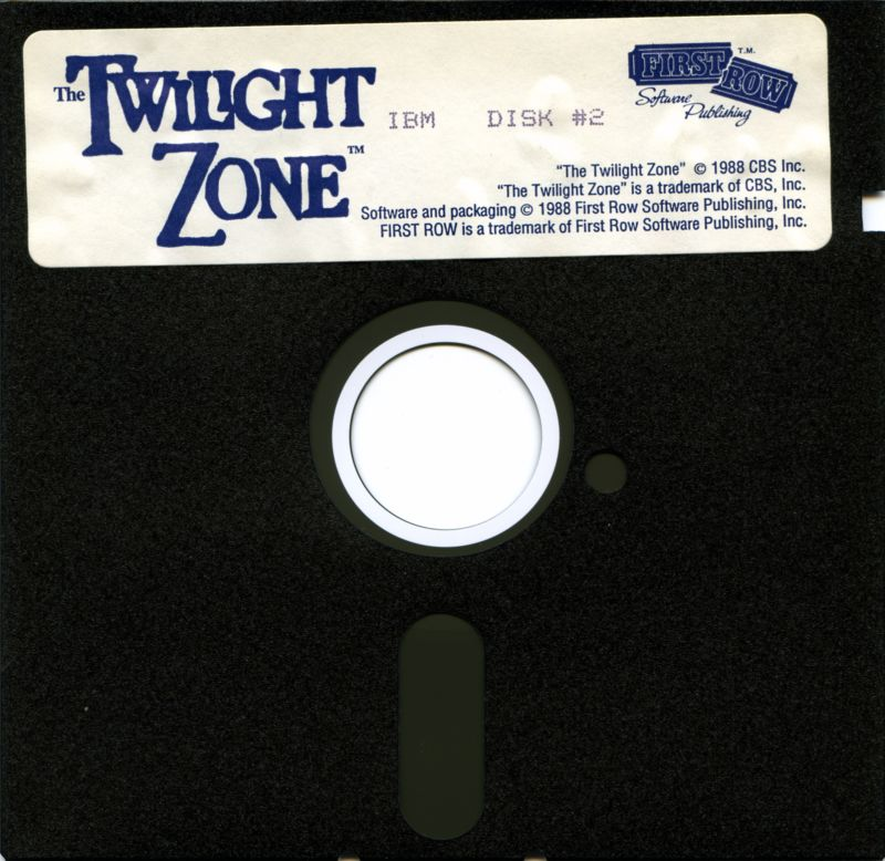 The Twilight Zone DOS Media Disk 3/3
