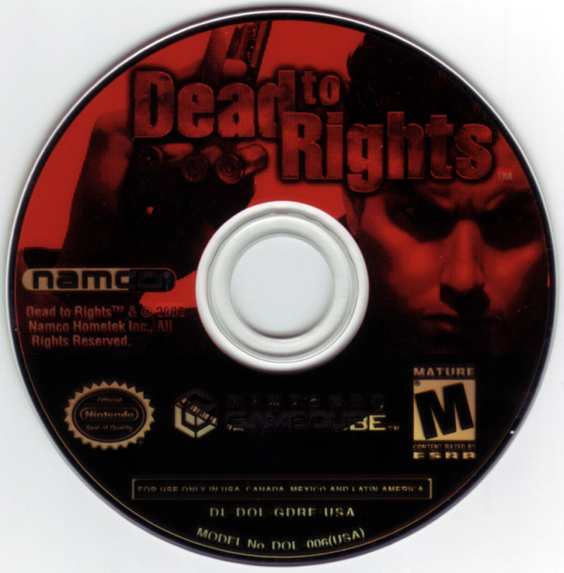 Dead to Rights GameCube Media
