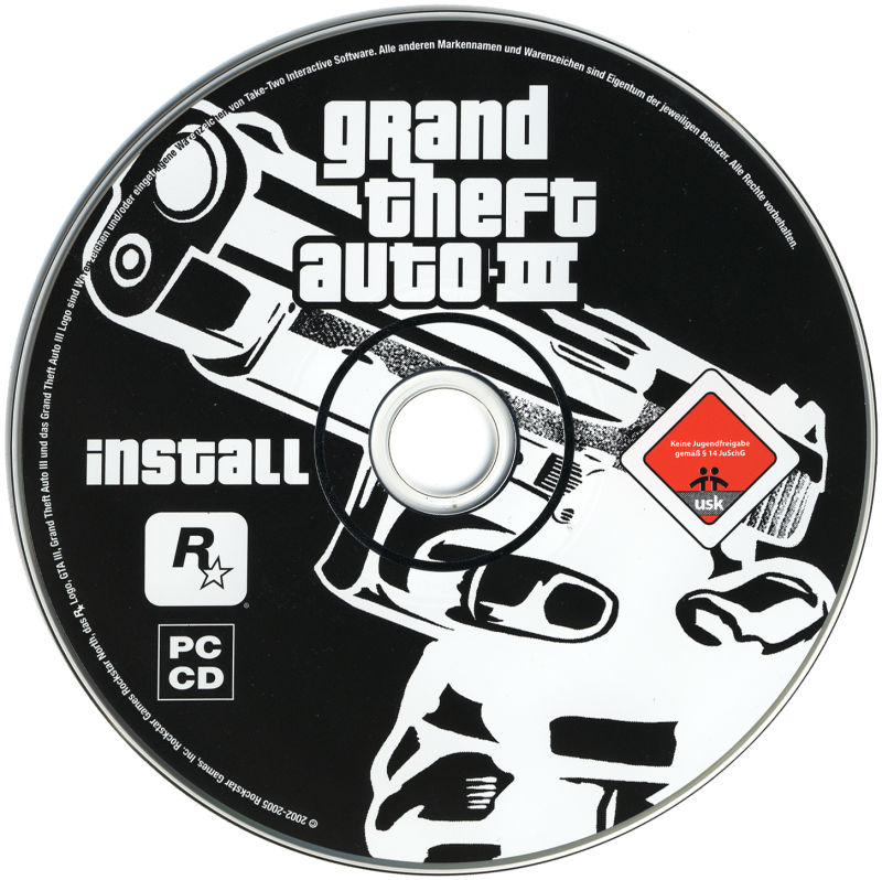 Grand Theft Auto III Windows Media Disc 1