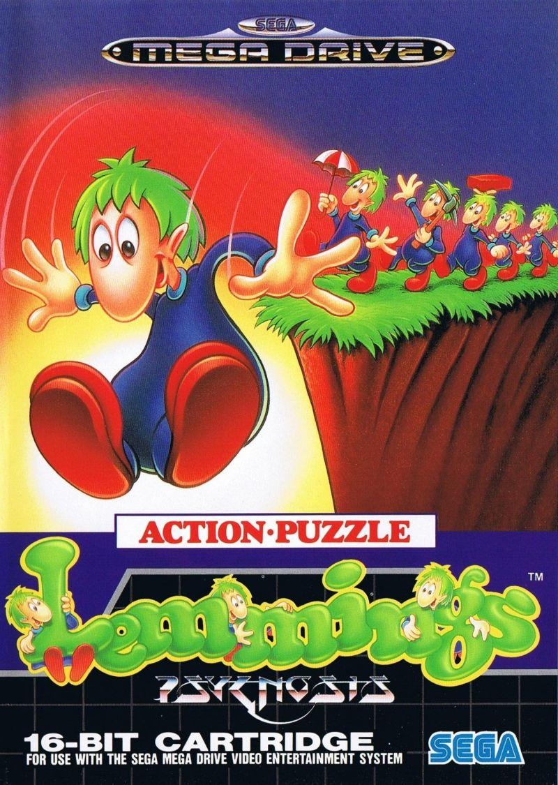 Lemmings Genesis Front Cover