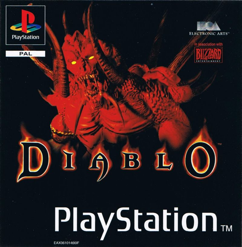 Diablo PlayStation Front Cover