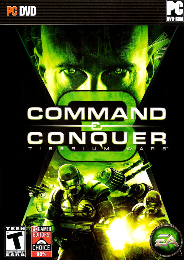 Command & Conquer 3: Tiberium Wars Windows Front Cover