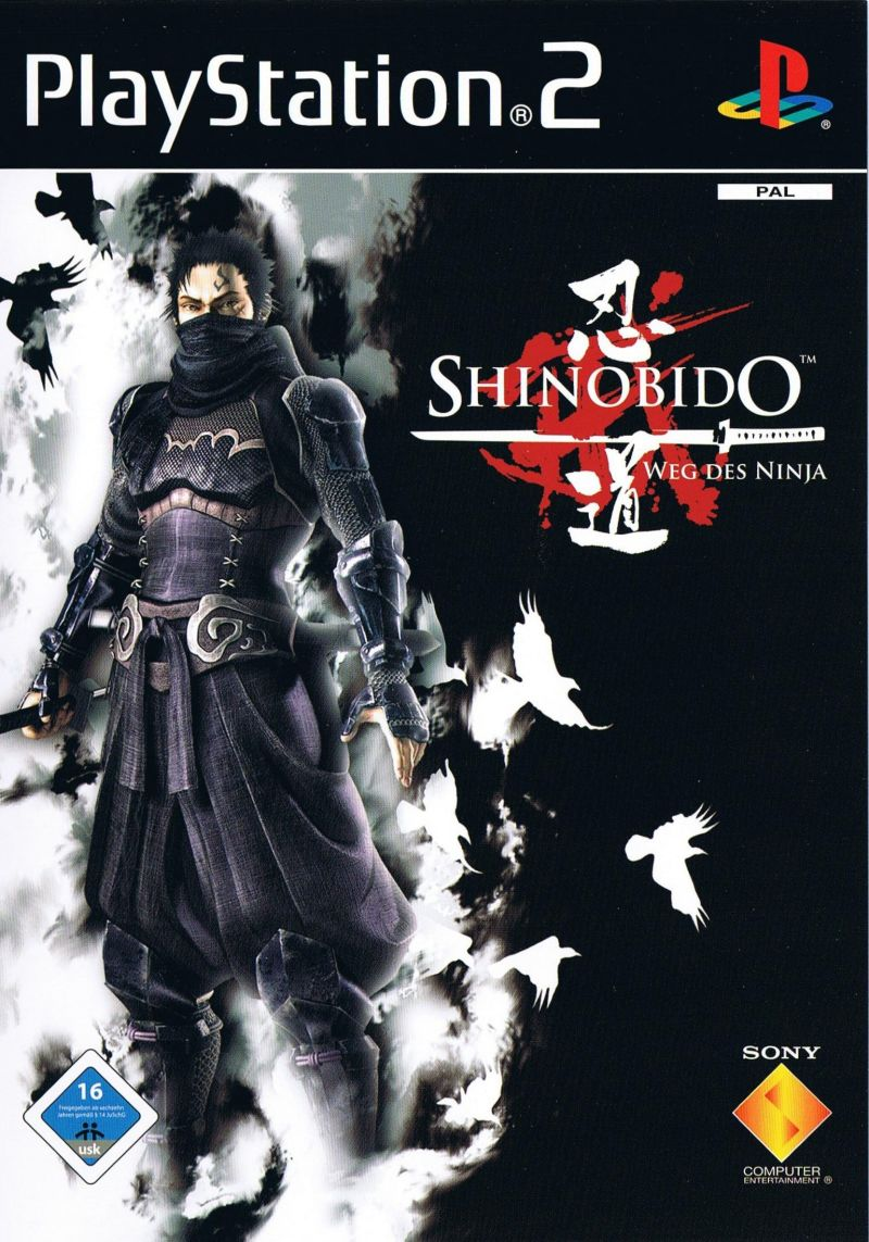 Shinobido: Way of the Ninja PlayStation 2 Front Cover