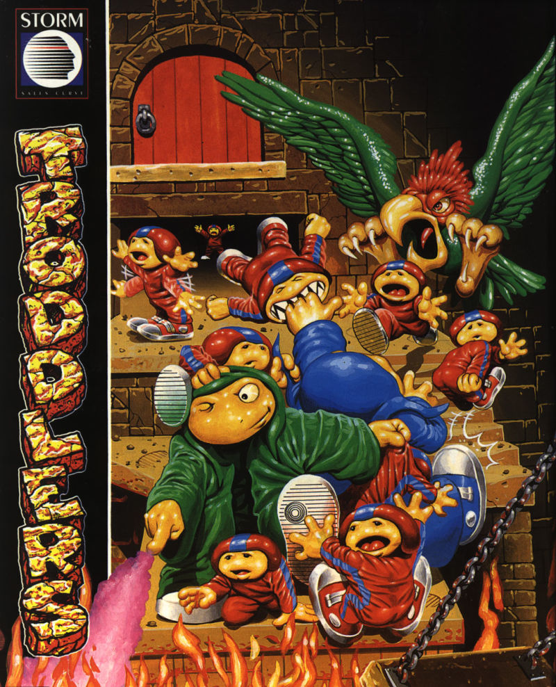 Troddlers Amiga Front Cover