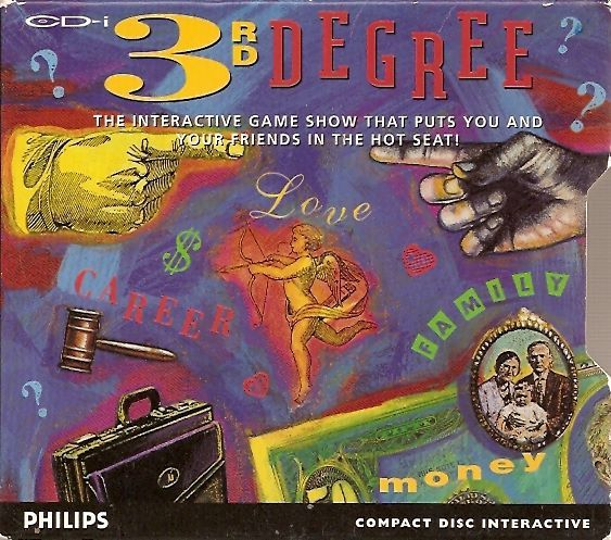 3rd Degree CD-i Front Cover
