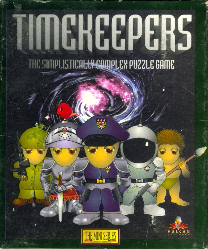 Timekeepers Amiga Front Cover