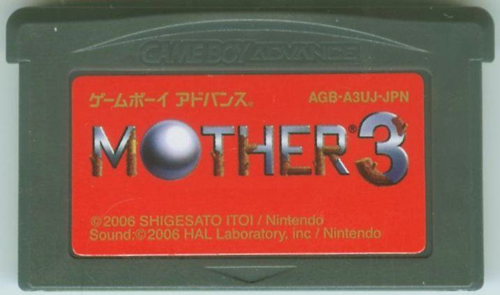 Mother 3 Game Boy Advance Media