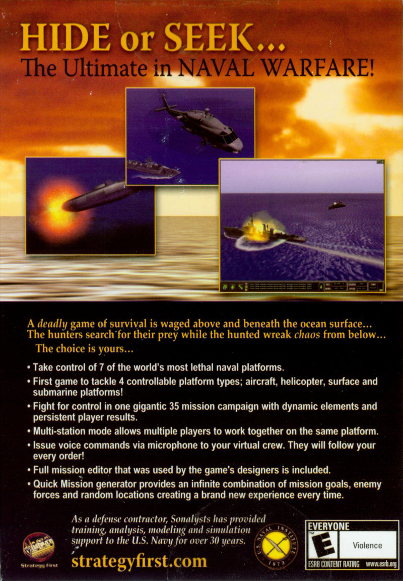 Dangerous Waters Windows Back Cover