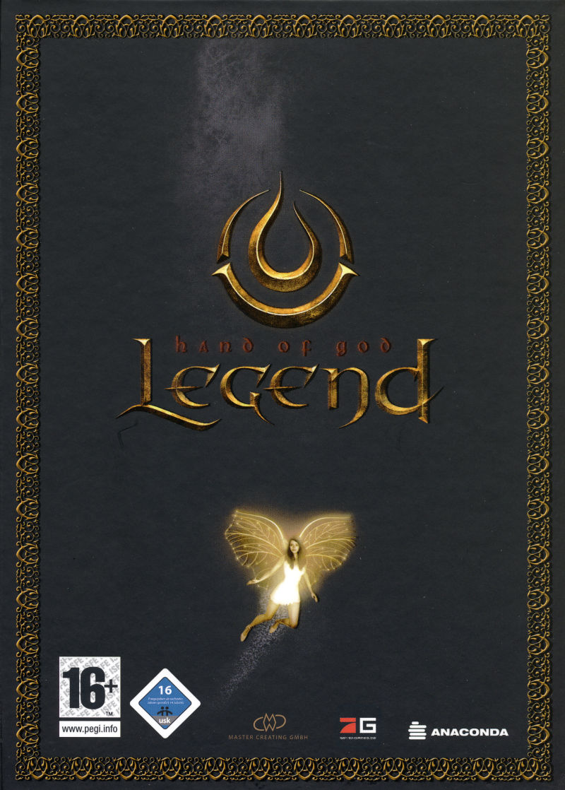 Legend: Hand of God (Collector's Edition) Windows Front Cover