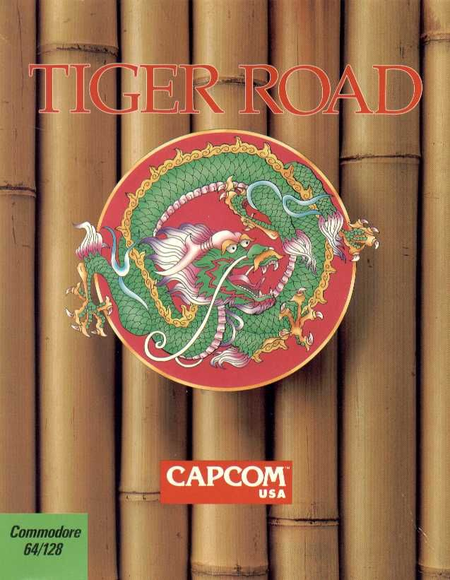 Tiger Road Commodore 64 Front Cover