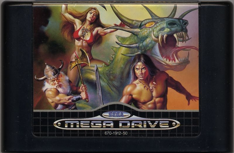 Golden Axe II Genesis Media