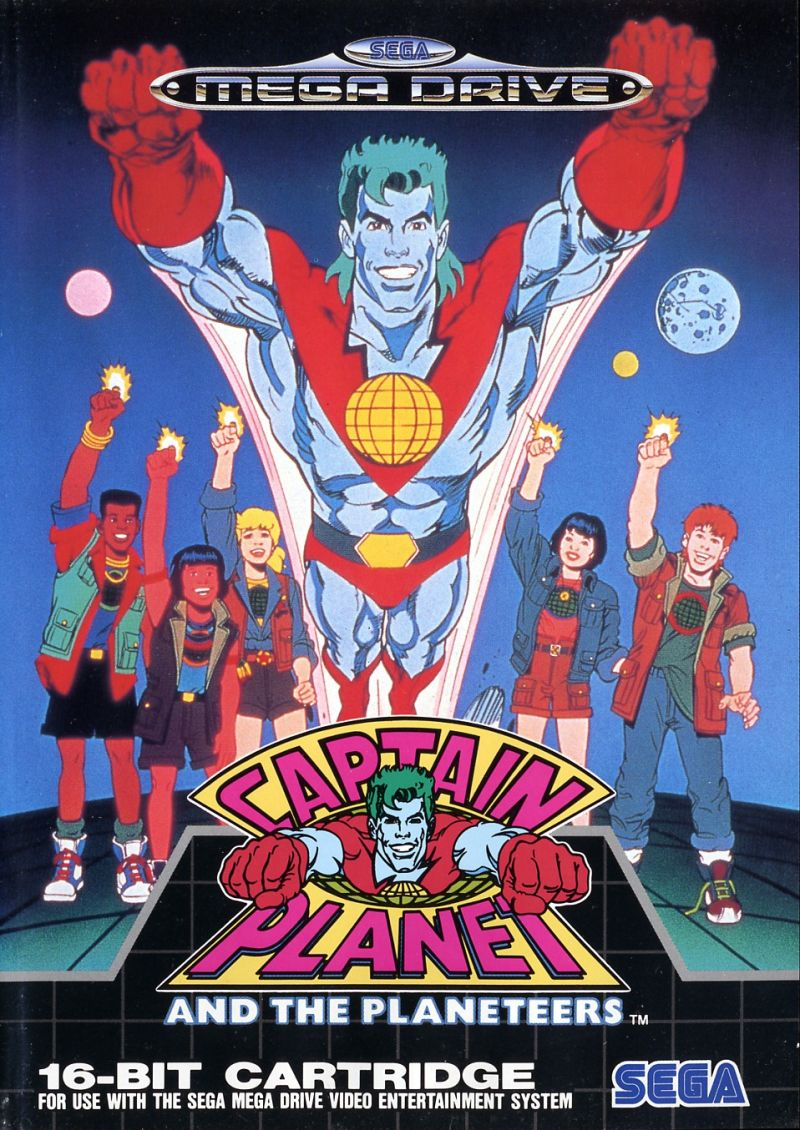 Captain Planet and the Planeteers     Genesis Front Cover