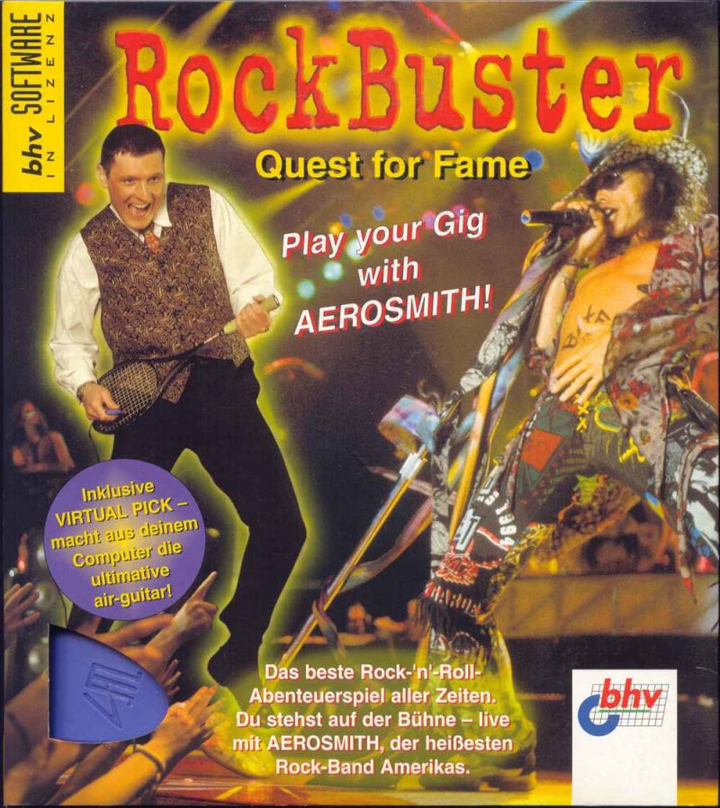 Quest for Fame Windows 3.x Front Cover
