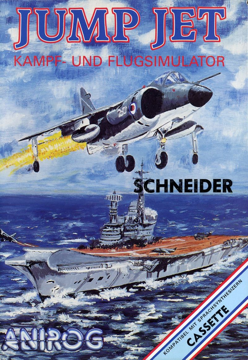 Harrier Mission Amstrad CPC Front Cover
