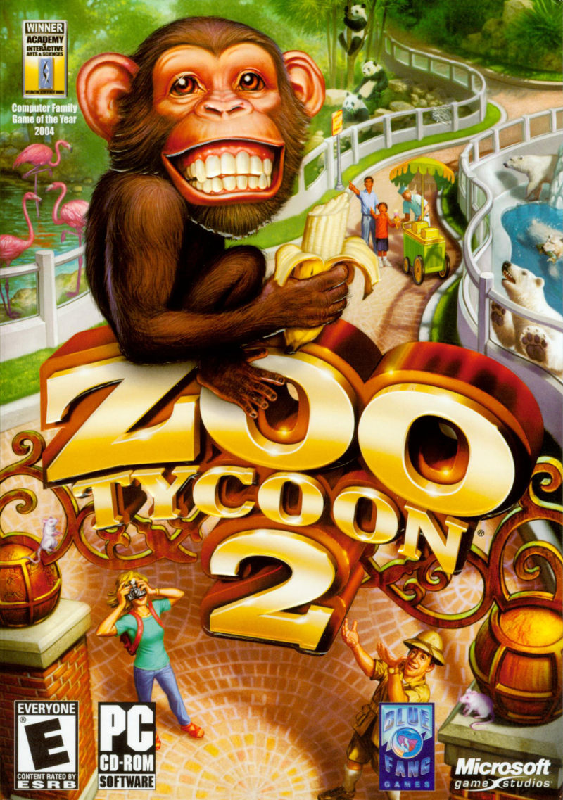 Zoo Tycoon 2 Windows Front Cover