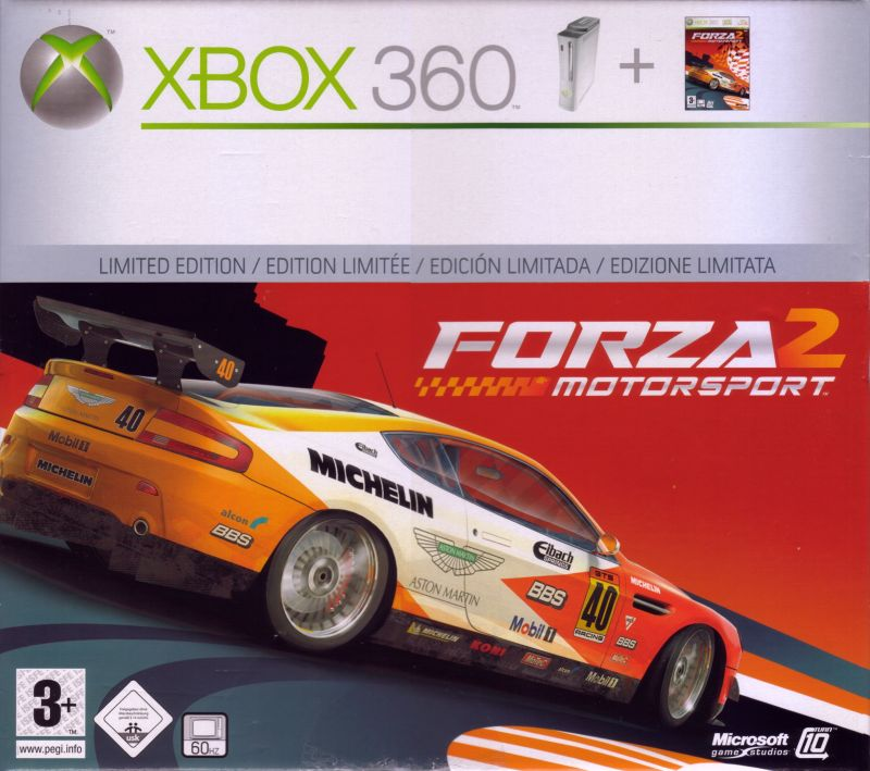 Forza Motorsport 2 Xbox 360 Other Xbox 360 Packaging - Front Cover