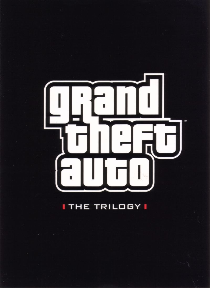 Grand Theft Auto: The Trilogy Xbox Inside Cover Front