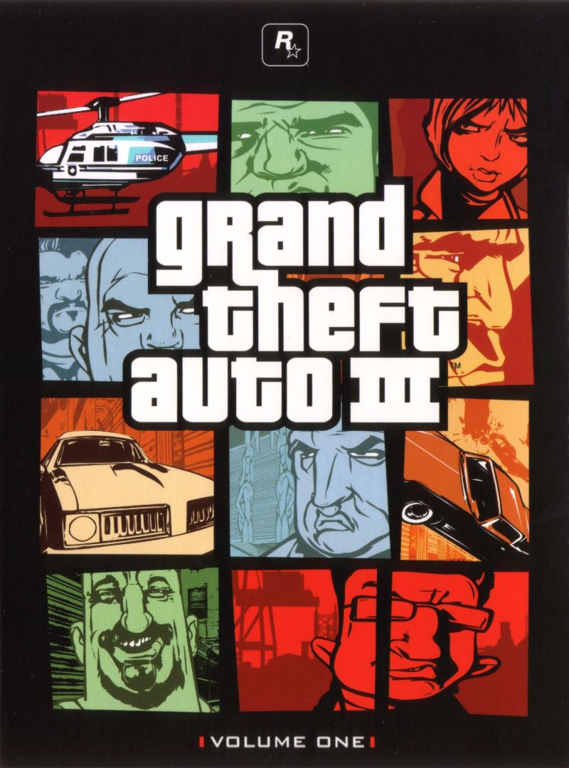 Grand Theft Auto: The Trilogy Xbox Other Digipack - GTA III - Front Cover