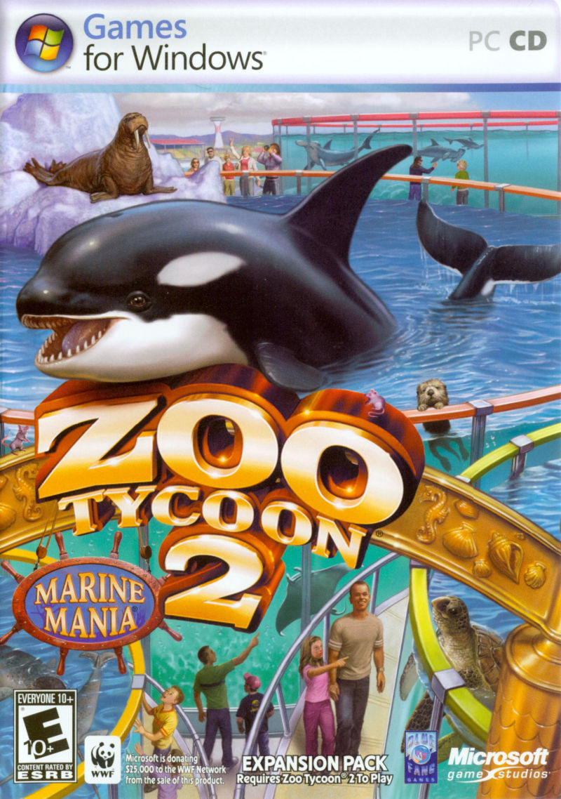 Zoo Tycoon 2: Marine Mania Windows Other Keep Case - Front