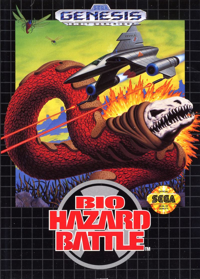 Bio Hazard Battle Genesis Front Cover