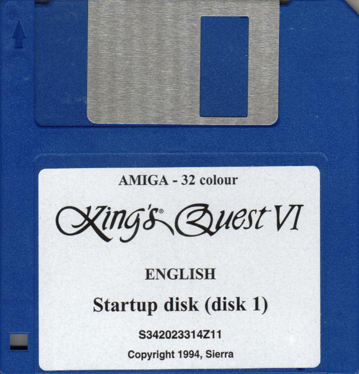 King's Quest VI: Heir Today, Gone Tomorrow Amiga Media Disk 1/10