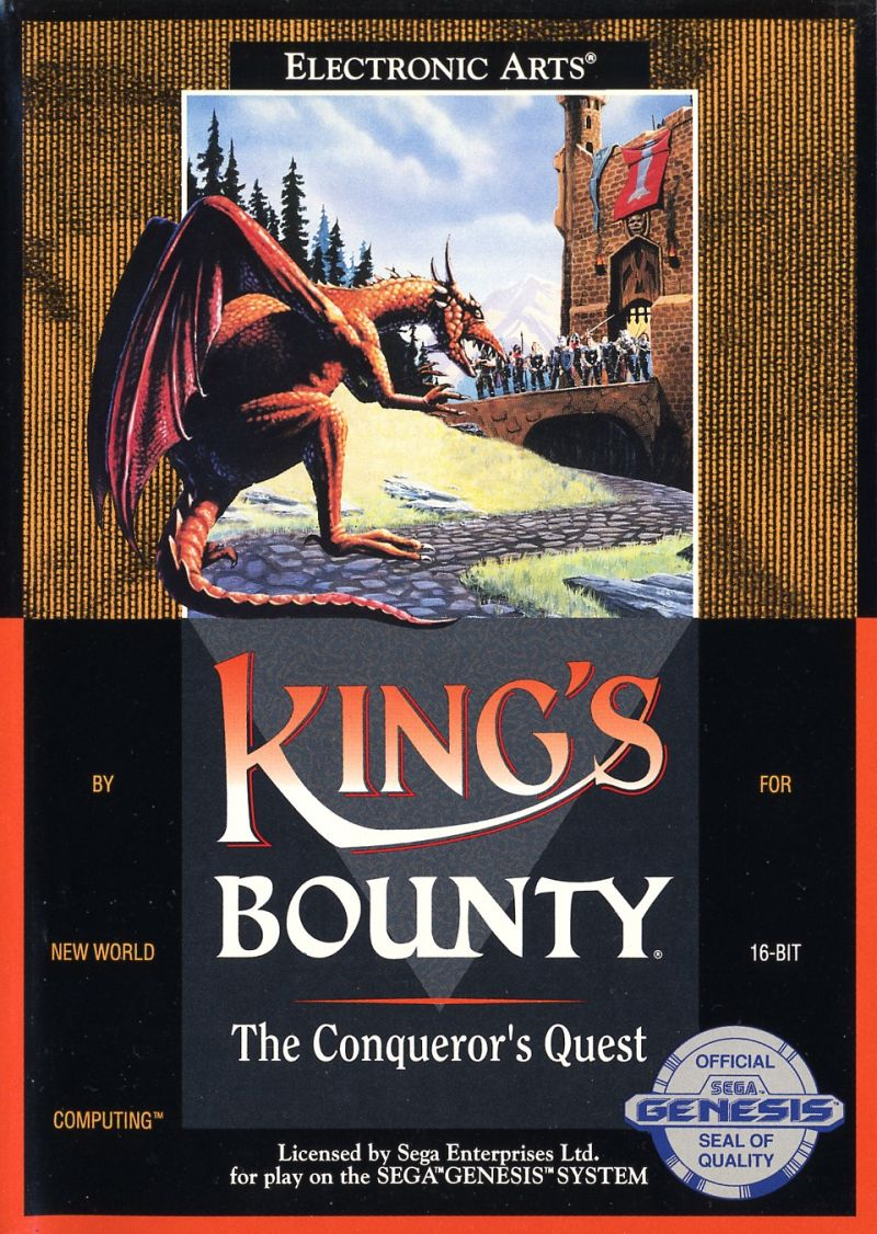 King's Bounty Genesis Front Cover