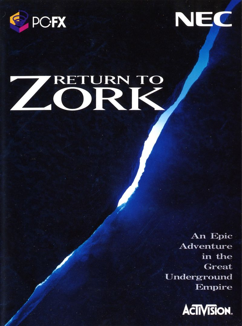 Return to Zork PC-FX Front Cover