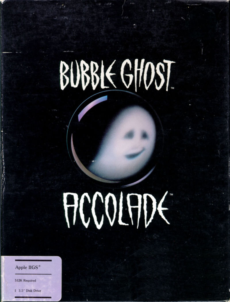 Bubble Ghost Apple IIgs Front Cover