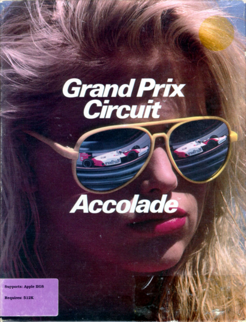 Grand Prix Circuit Apple IIgs Front Cover