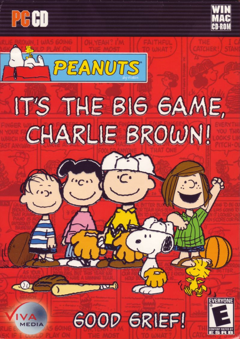 Peanuts: It's the Big Game, Charlie Brown! Macintosh Front Cover