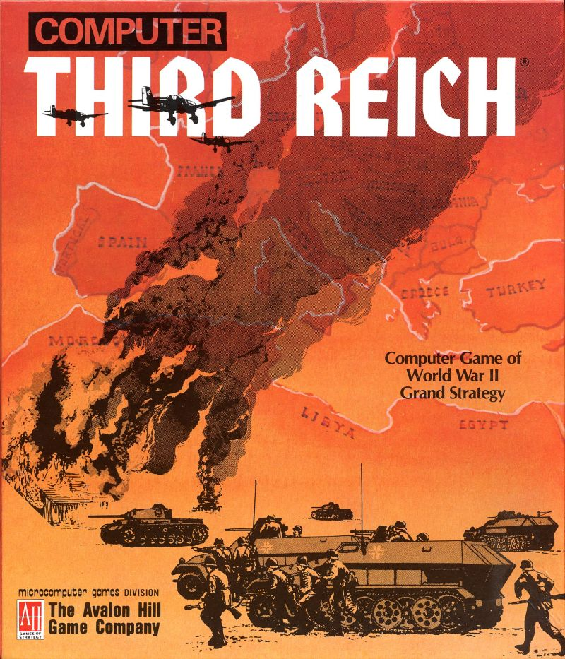 Third Reich Amiga Front Cover