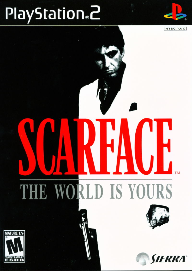 Scarface: The World Is Yours PlayStation 2 Front Cover