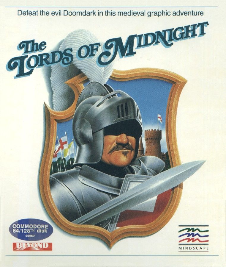 The Lords of Midnight Commodore 64 Front Cover