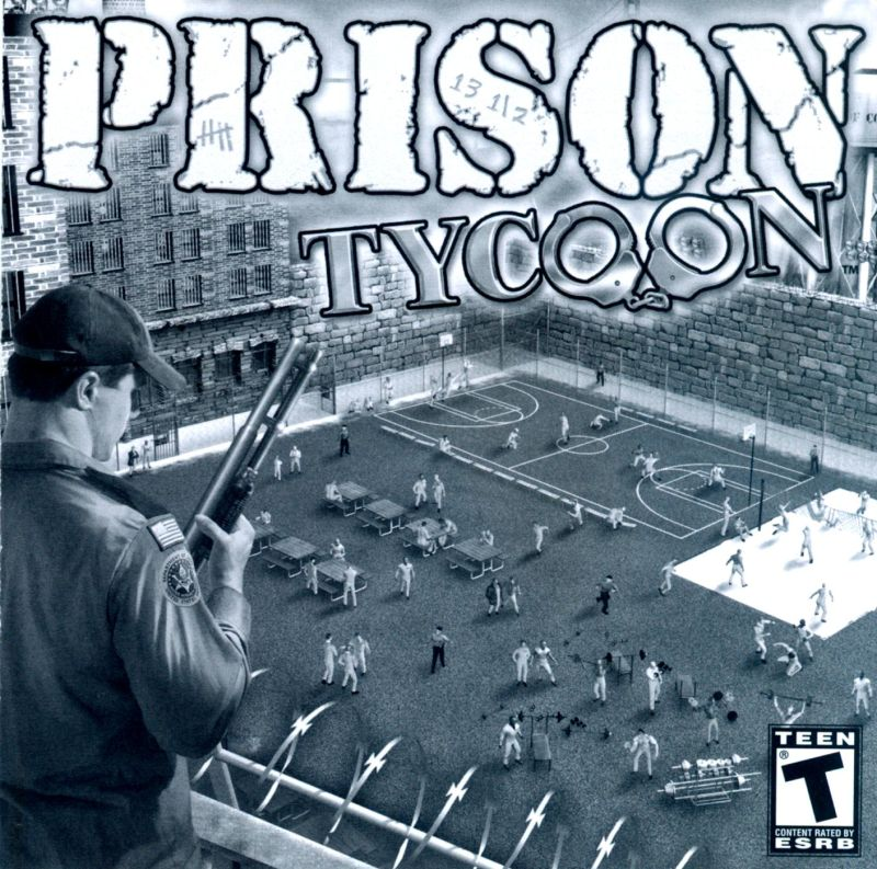 Prison Tycoon Windows Other Jewel Case - Front